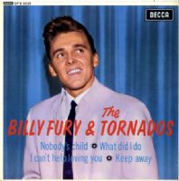 Billy Fury & The Tornados - Nobody's Child - What Did I Do (DFE 8525) Ex/M-